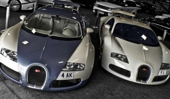 A Bugatti Veyron Book That Features Afzal Kahn S