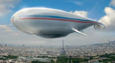 Manned Cloud Airship