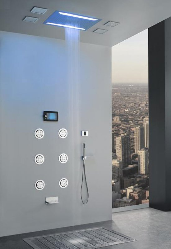 Aqua Sense Electronic Shower System Delivers Spa Like Experience