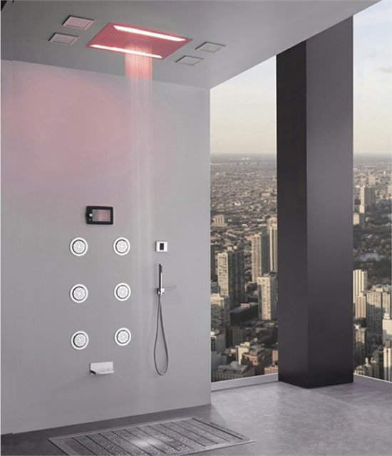 Aqua Sense electronic shower system delivers spa-like experience ...
