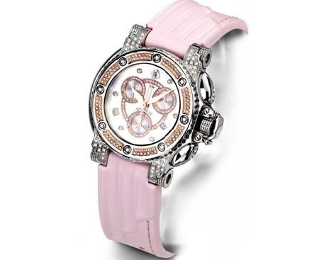 bara_cuda_Pink_Diamond_Watch
