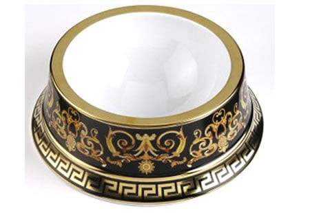 Gianni Versace S Barocco Pet Bowl