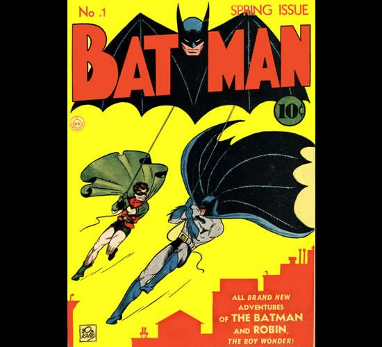 First Batman comic auctioned for $850,000 : Luxurylaunches