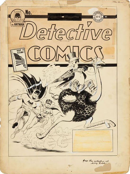 An original 1942 DC Batman and Penguin comic estimated at over $300,000! : Luxurylaunches