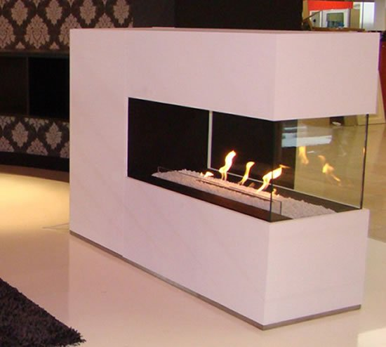 A Cozy And Classy Bioethanol Fireplace Bio Oh By Puur
