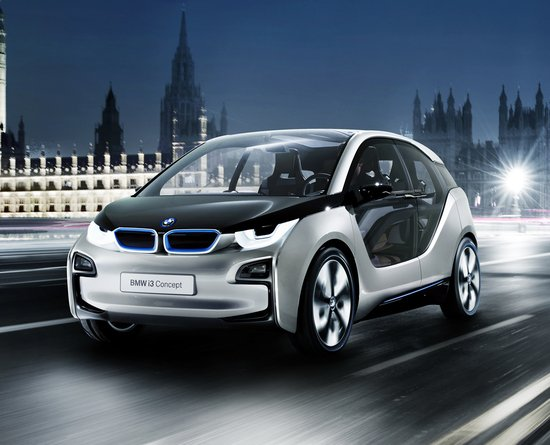 The Bmw I3 Concept I8 Supercar And I Pedelec Electric Bicycle