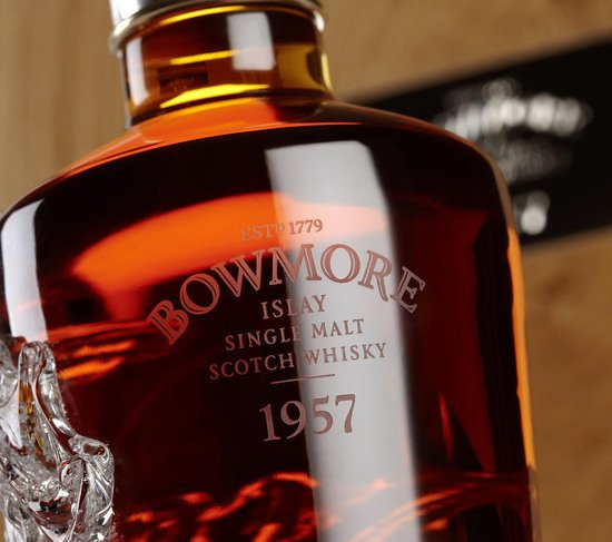 Most Expensive Cars >> Bowmore 1957 is the most expensive bottle of whiskey ever ...
