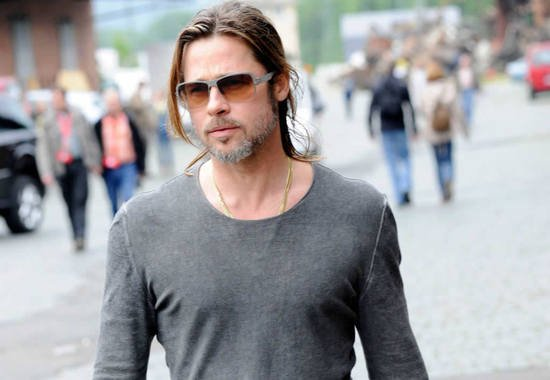 Brad Pitt Gets 7 Million To Become The First Male Face