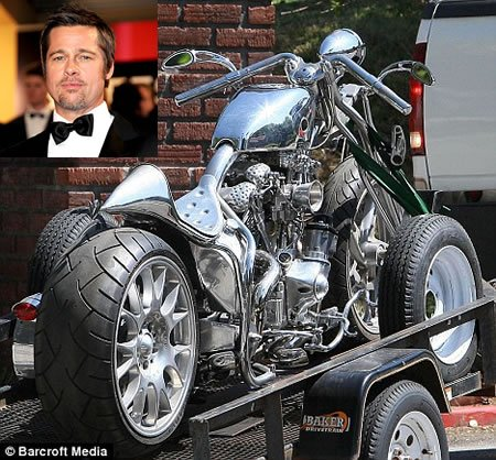 Brad Pitt adds another beauty to his bike collection