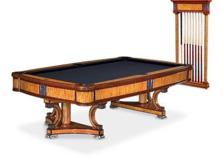 Isabella Brunswick Billiards Table Emanates Royal Elegance