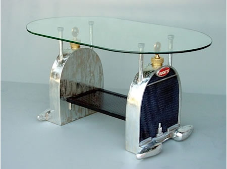 Amazing Grille Themed Coffee Table