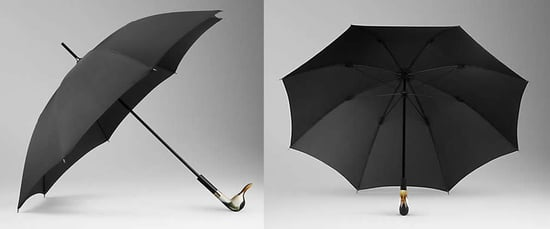 Burberry Umbrella With Animal Head Handle Tames Wild Fashion