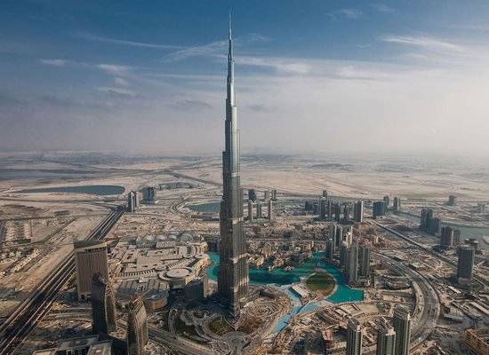 Tom Cruise Hangs Out From Burj Khalifas Observation Deck For