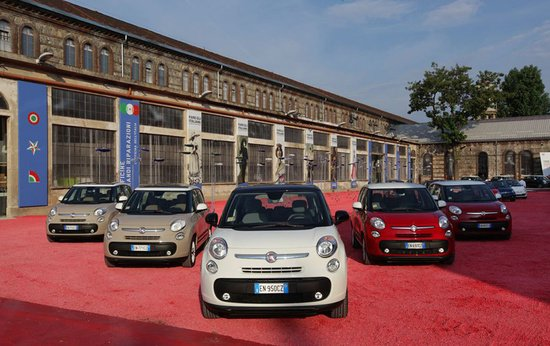Fiat 500L to have world's first ever in-car coffee machine : Luxurylaunches