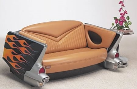 Sofa Made From Car Trunk Coolest Ever