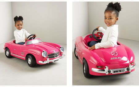 power passion precision are the only way to describe this hot machine bring the road to life for your kid with this dream machine mini mercedes