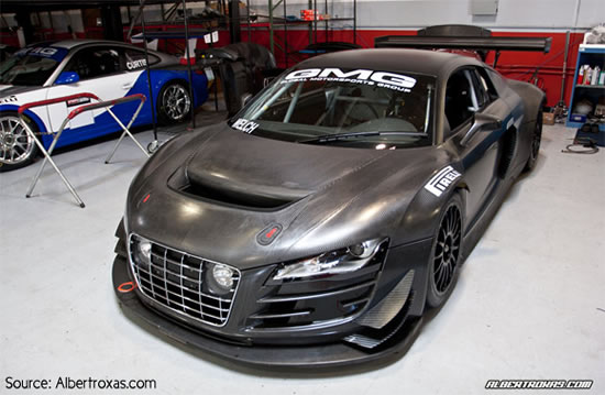 Carbon Fiber Audi R8 Lms Gt3 R16 Comes To America