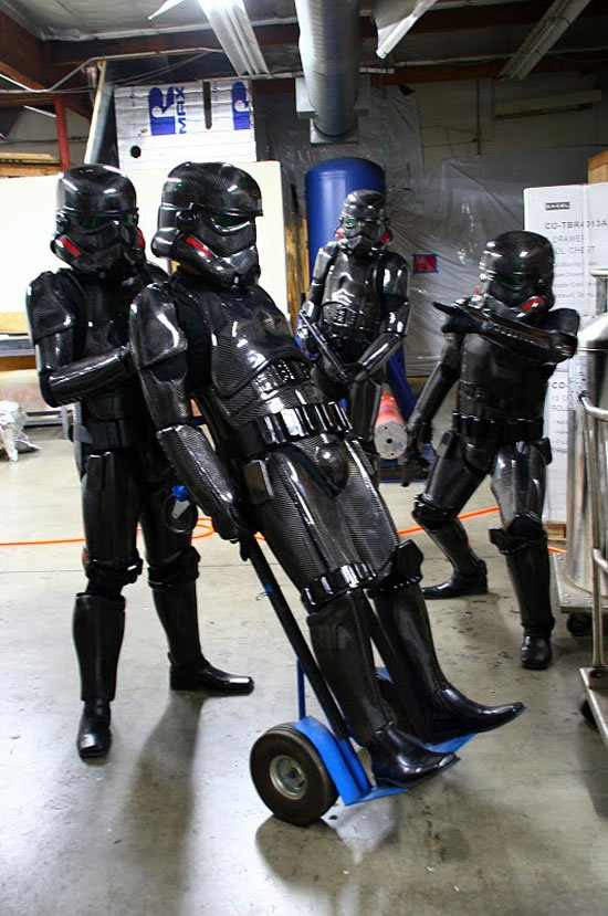 Carbon Fiber Stormtrooper Suits Cost As Much As A Fancy Car