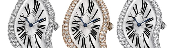 2013 Cartier Crash Limited edition will debut at SIHH