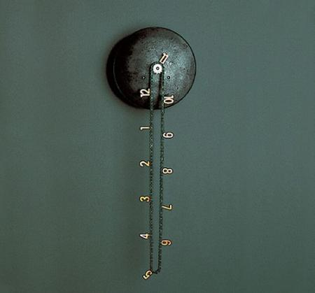 Chic Catena Wall Clock Made Of Bike Chain Costs 2 300