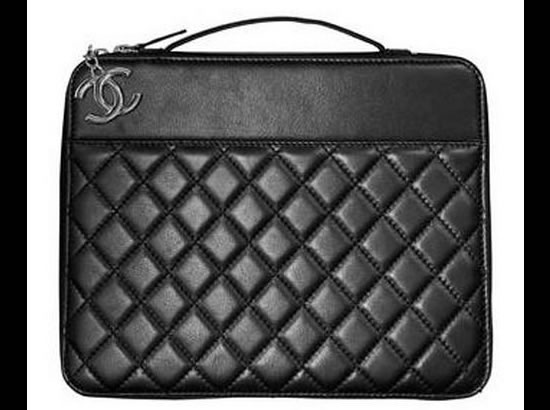 6247aaee28f535 Now a fashionable leather case for your iPad from Chanel -