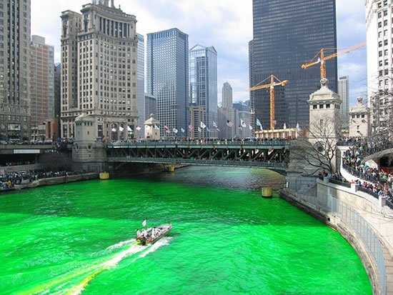 Trump hotel chicago celebrates with st patrick s skybox for River hotel chicago