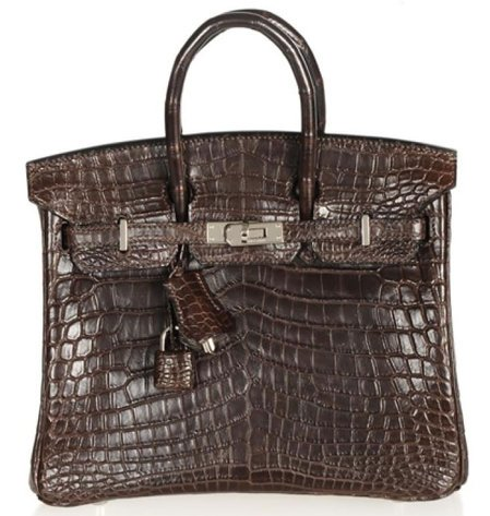 Hermes Chocolate Niloticus Crocodile Birkin bag has an evergreen charm -