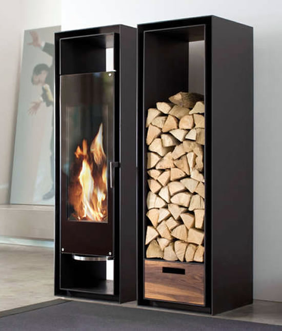 Conmoto Gate Wood Burning Fireplace Keeps The Chill Away