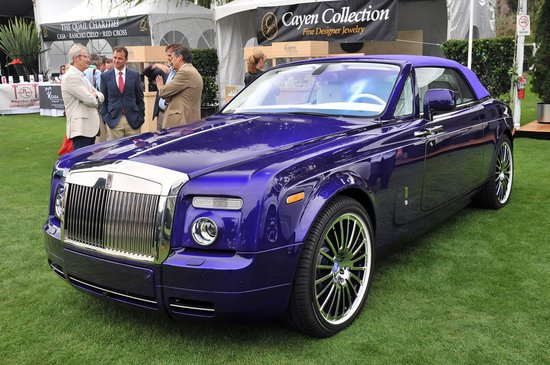 Rolls Royce Creates Highly Customized Car For Michael Fux