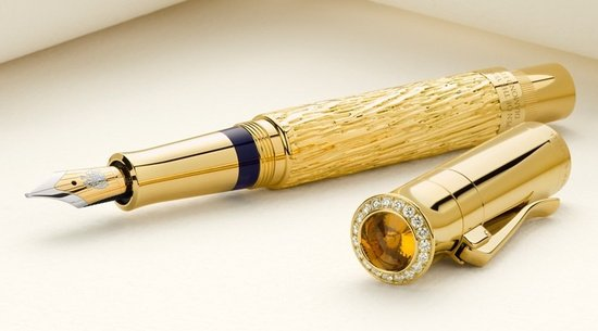 Graf von Faber-Castell's Diamond studded fountain pen : Luxurylaunches
