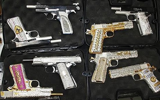 diamond-studded-guns