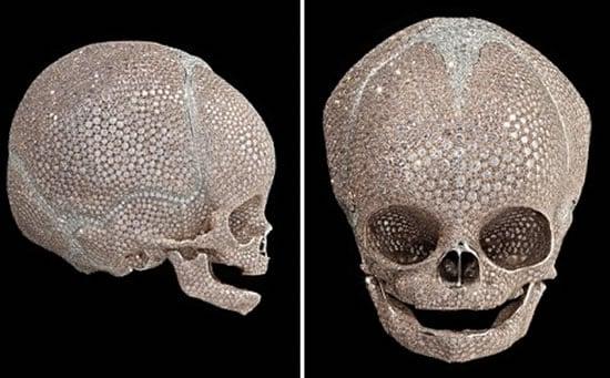 diamond-studded-infant-skull