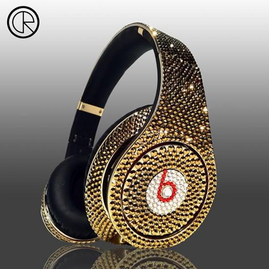 Dr Dre S Beats Studio Headphones Swarovski Glamour Series