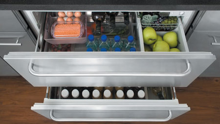 The Summit Built In Or Freestanding Drawer Refrigerator Is
