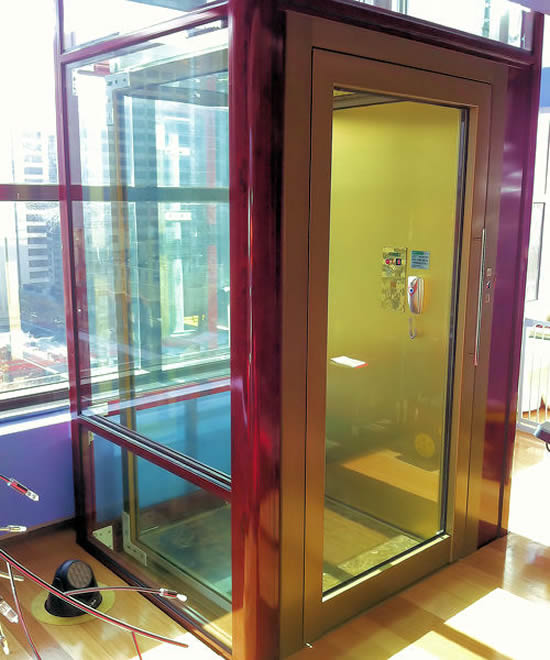 Stylish custom elevators by elevator boutique rise up in u for Luxury home elevators