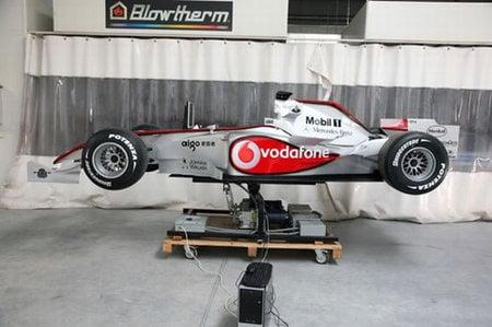 F Showcar Motion Simulator For All F Fanatics - F1 show car