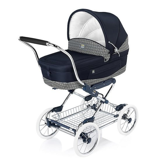 Fendi-Inglesina pram is available at Harrods -