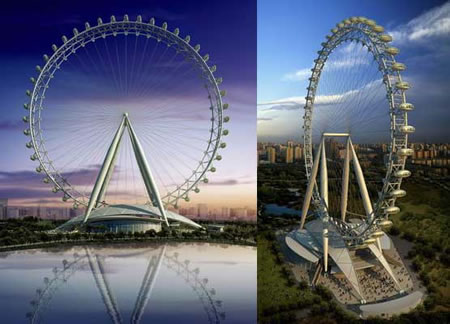 Tallest Ferris Wheel In The World >> World S Tallest Ferris Wheel Coming Up In China