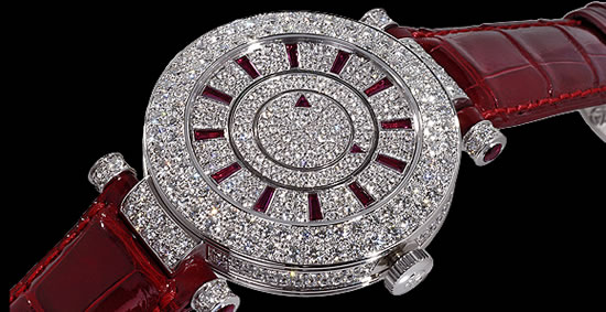 20 Diamond Studded Smuggled Franck Muller Watches Found In