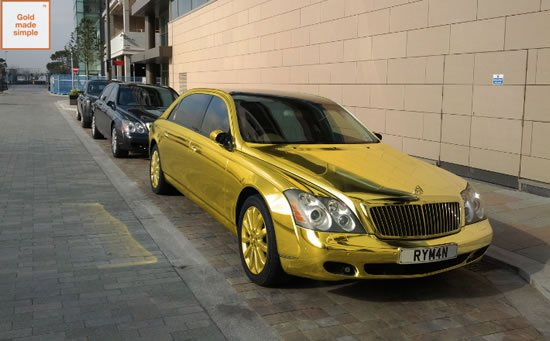 gold-maybach