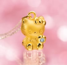 Gold hello kitty pendant with diamond for mature women gold hello kitty pendant with diamond for mature women aloadofball Choice Image