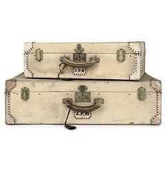 Bid for beautiful vintage luggage at Christies -