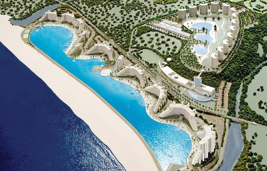 San alfonso del mar welcomes you to the world s largest swimming pool for Largest swimming pool in the world in chile