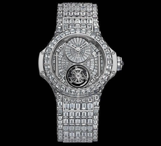 hublot ups the ante with a 5 million watch for women