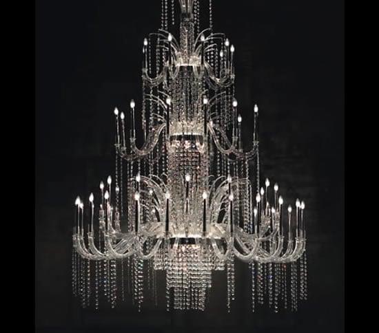 Classic Murano Chandeliers For Luxury Hotel In Florence: Elegant De Majo Luxury Chandeliers Add Grandeur To Your