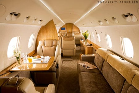 Legacy 650 Technology | Aircraft Cabin Noise Reduction