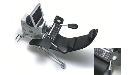 Netsurfer Supposed To Be The Worldu0027s Most Comfortable PC Chair