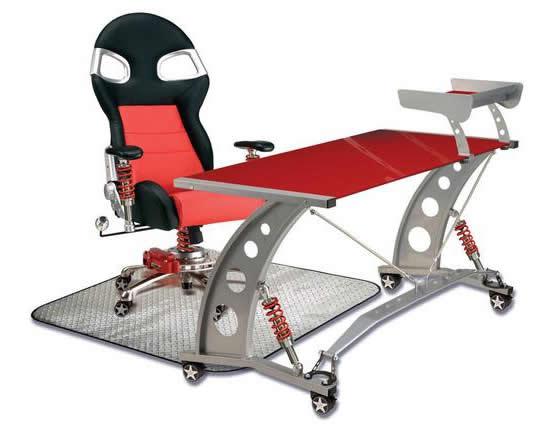 Intro Tech Automotive Debuts Auto Themed Furniture Line