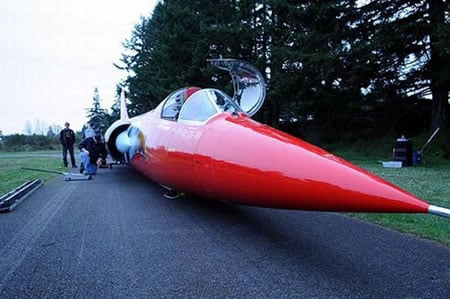Makers Of The North American Eagle Jet Car Are Looking For