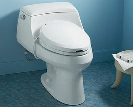 Kohler C3 Toilet Seat Bidet With Remote For Hi Tech